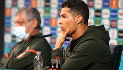 Effetto Cristiano Ronaldo:la frase in conferenza contro Coca-Cola