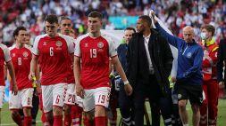 Dramma Eriksen: Danimarca-Finlandia riprende