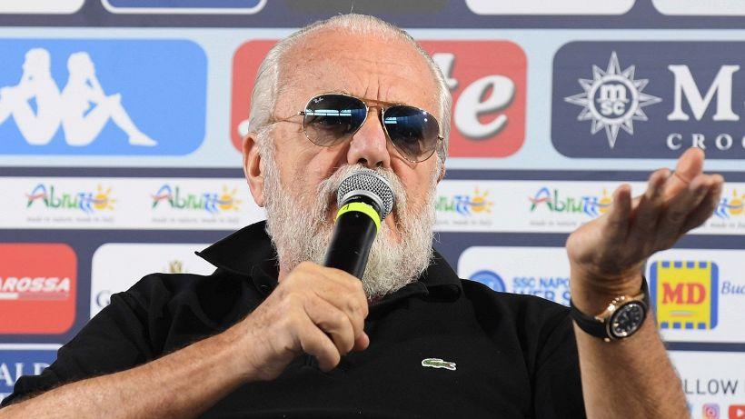 Napoli: De Laurentiis punge la Juventus sulla Superlega