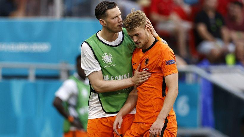 "Euro 2020, de Ligt: ""L'Olanda ha perso per colpa mia"""