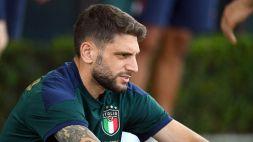 Italia: anche Berardi torna in gruppo