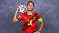 Belgio, Eden Hazard carico per l'esordio svela il proprio futuro