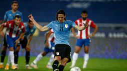 Copa America, Uruguay-Paraguay 1-0: Celeste seconda