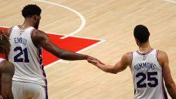 Joel Embiid oltre il dolore, colpo 76ers ad Atlanta