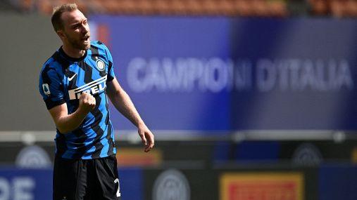 """Il messaggio dell'Inter per Eriksen: """"Forza Chris, siamo con te"""""""