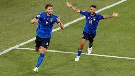 Euro 2020: Italia-Svizzera 3-0, le foto
