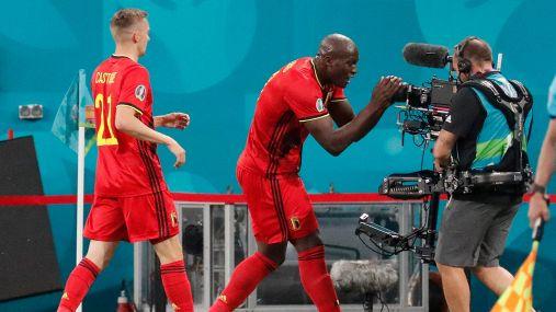 Euro 2020: Russia-Belgio 0-3, le foto
