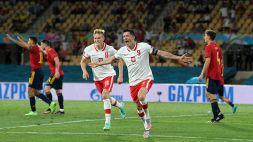 Euro 2020: Spagna-Polonia 1-1, le foto