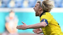 Euro 2020: Svezia-Slovacchia 1-0, le foto