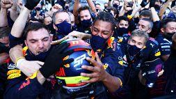 F1: Baku, a sorpresa la spunta Perez, le foto