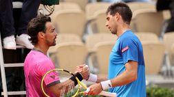 Roland Garros, Fognini si arrende a Delbonis