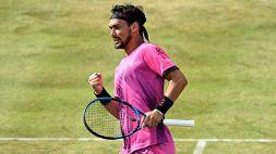 Wimbledon, Fabio Fognini avanza al terzo turno: sconfitto Djere