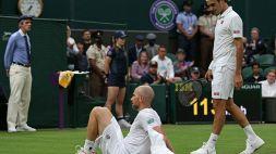 Wimbledon, Federer si salva: Mannarino costretto al ritiro
