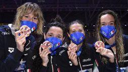Nuoto, ufficializzate tutte le staffette azzurre che andranno a Tokyo