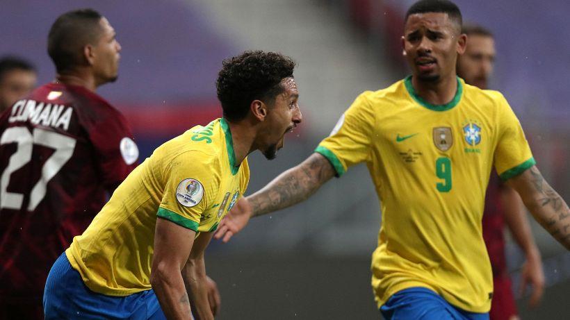 Copa America, Brasile-Venezuela 3-0: buona la prima per la Seleção