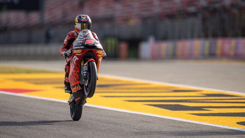 GP Catalunya, Rodrigo in pole nella Moto3