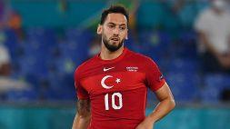 """Turchia, lo sconforto di Calhanoglu: """"Siamo molto delusi"""""""