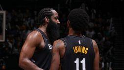 """Irving non si illude: """"I Bucks sono forti e l'assenza di Harden si farà sentire"""""""