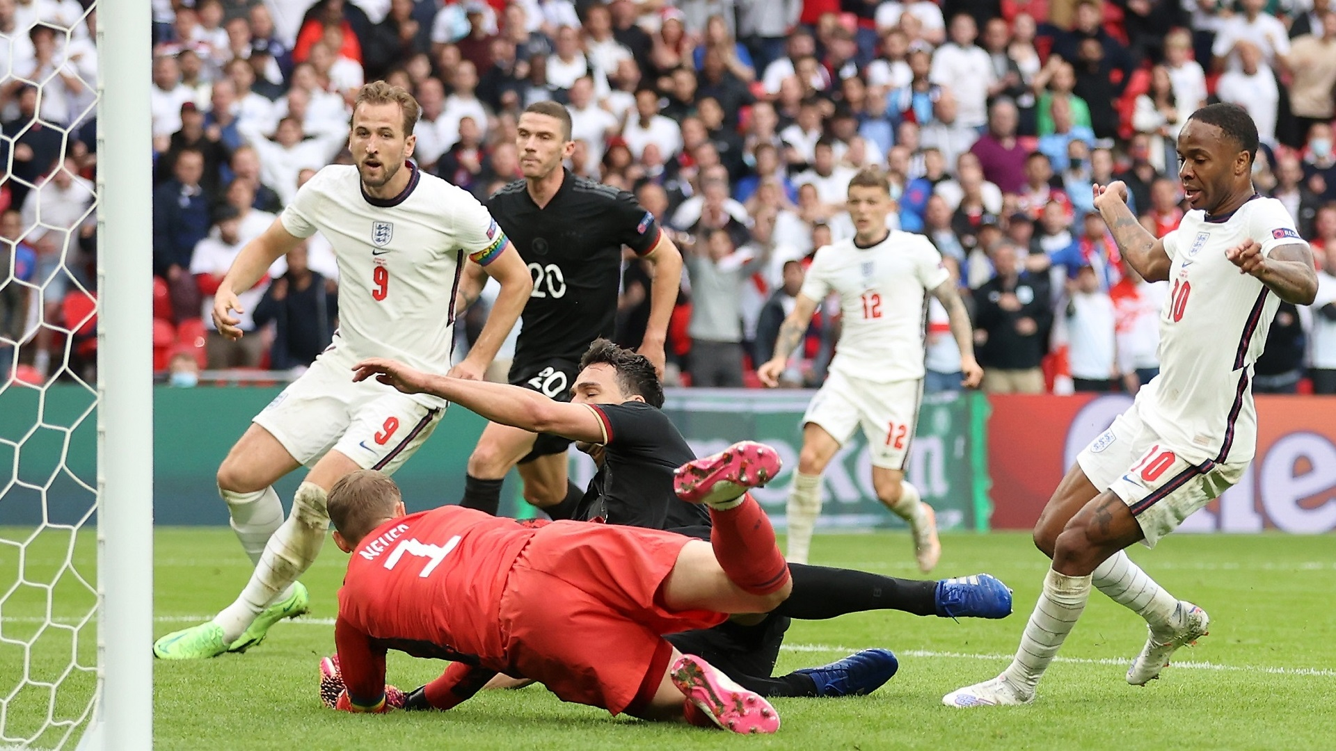 Euro 2020, Inghilterra-Germania 2-0: le foto - Euro 2020, Inghilterra- Germania 2-0: le foto
