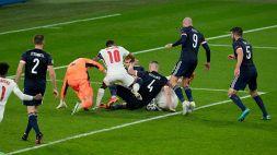 Euro 2020, Inghilterra-Scozia 0-0. Le foto
