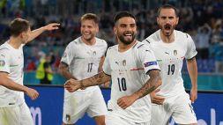 Euro 2020, l'Italia domina e dà spettacolo: Turchia travolta
