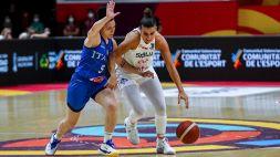 Basket, Europeo donne: Italia sconfitta dalla Serbia