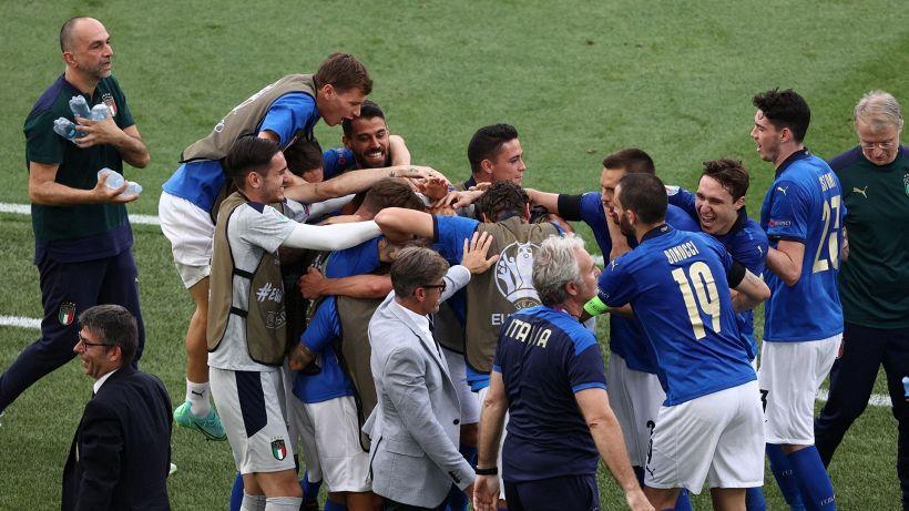 Euro 2020: vince anche l'Italia di riserva, Galles ko e Azzurri primi
