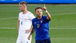 Italia-Repubblica Ceca 4-0, le foto