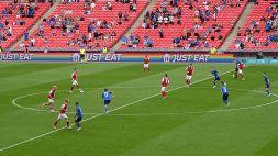 Euro 2020, Italia-Austria: nessuno si inginocchia