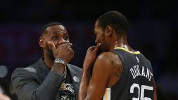 Nba, Pippen gli preferisce James e Durant attacca l'ex Bulls