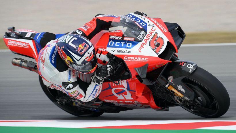 MotoGP, seconde libere Catalunya: la Ducati di Zarco davanti