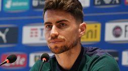 """Euro 2020, Jorginho: """"Pallone d'Oro? Penso a vincere con l'Italia"""""""