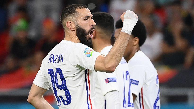 Euro 2020: Benzema-Ronaldo 2-2, Goretzka salva la Germania