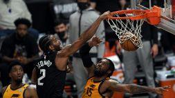 Clippers-Jazz, per Kawhi Leonard la serie potrebbe essere finita