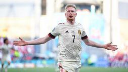 Euro 2020, Italia-Belgio: De Bruyne e Hazard convocati