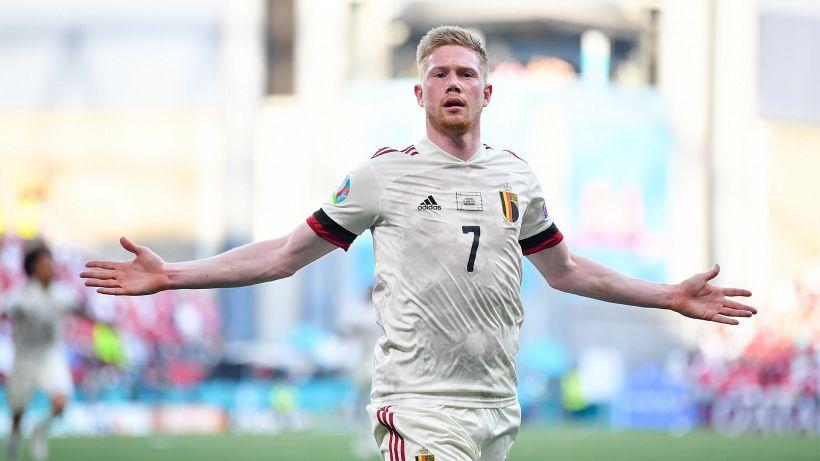 La Danimarca dura solo un tempo! 2-1 Belgio nel segno di De Bruyne