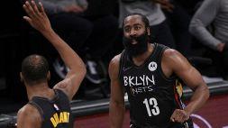 Harden in cattedra, i Nets volano in semifinale