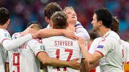 Euro 2020: continua la favola della Danimarca, Galles travolto