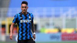 Inter, l'agente di Lautaro in sede: sviluppi a breve?