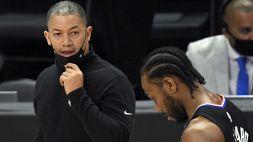 Leonard, exploit e spavento: i Clippers affossano Utah