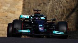 F1, Hamilton 2° salva un disastroso weekend per la Mercedes