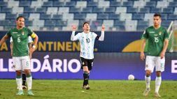 Copa America, Bolivia-Argentina 1-4: Messi scatenato, Albiceleste prima