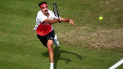 Sonego al secondo turno senza troppi problemi a Wimbledon