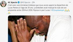 Lutto nel calcio: scomparso a 39 anni Lucas Pereira per Covid