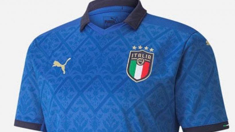 Euro 2020: la maglia dell'Italia eletta come la più bella