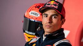 MotoGp, Marc Marquez preoccupato dopo la caduta