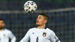 L'Italia debutta contro la Turchia: Castrovilli, Toloi e Verratti in tribuna