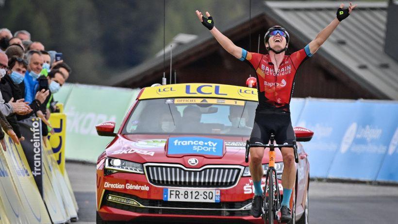 Giro del Delfinato: Padun per distacco a La Plagne, Porte nuovo leader