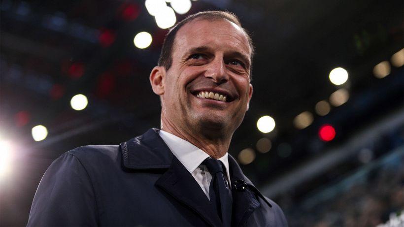 """Allegri nel mirino del web: """"Finalmente vince inEuropa"""""""