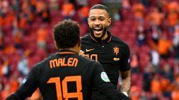 Macedonia del Nord-Olanda 0-3: show di Depay e Wijnaldum e Orange a punteggio pieno
